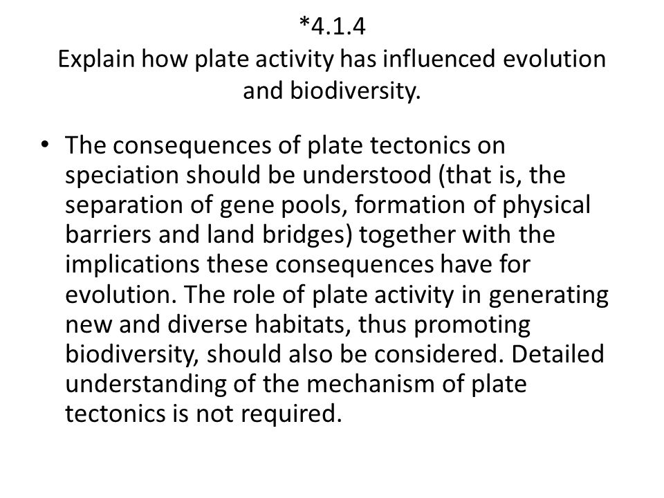 *4.1.5 Explain the relationships among ecosystem stability, diversity, succession and habitat.