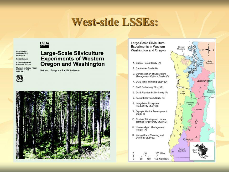 West-side LSSEs: