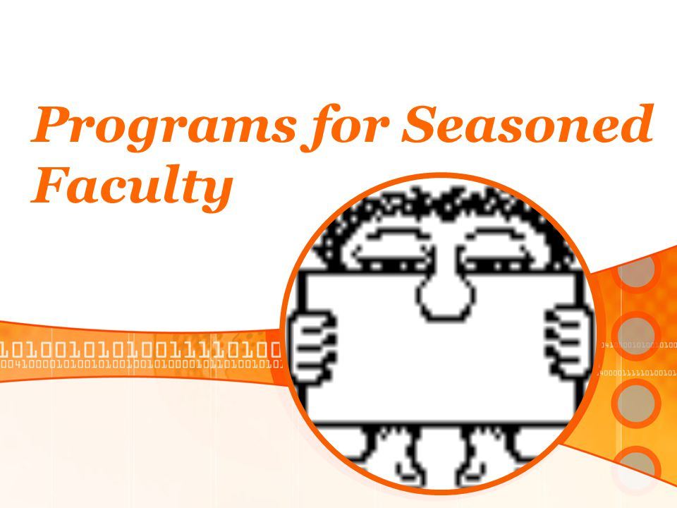 Programs for Seasoned Faculty