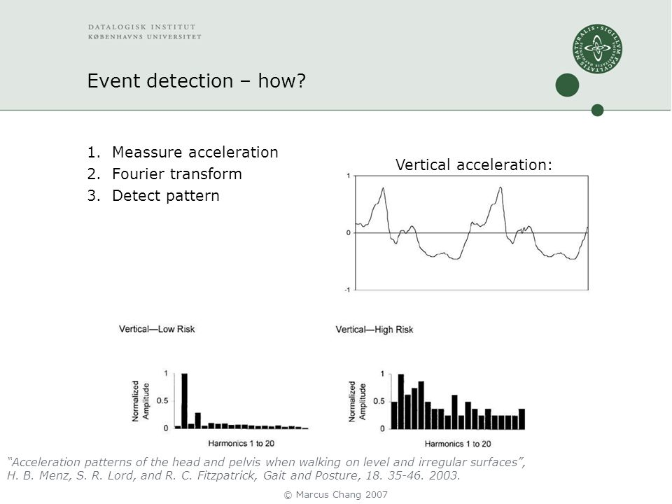 Event detection – how.