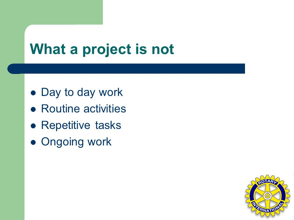 Elements to consider when implementing Projects Resource (budget)- Time estimate- Quality results-