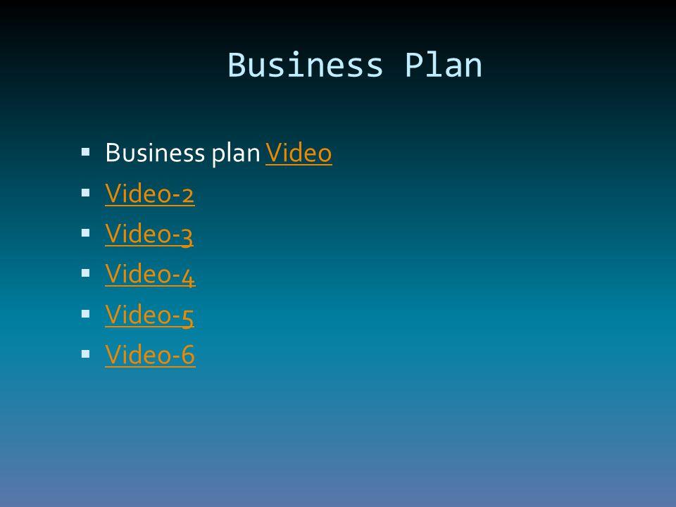 Business Plan  Business plan VideoVideo  Video-2 Video-2  Video-3 Video-3  Video-4 Video-4  Video-5 Video-5  Video-6 Video-6