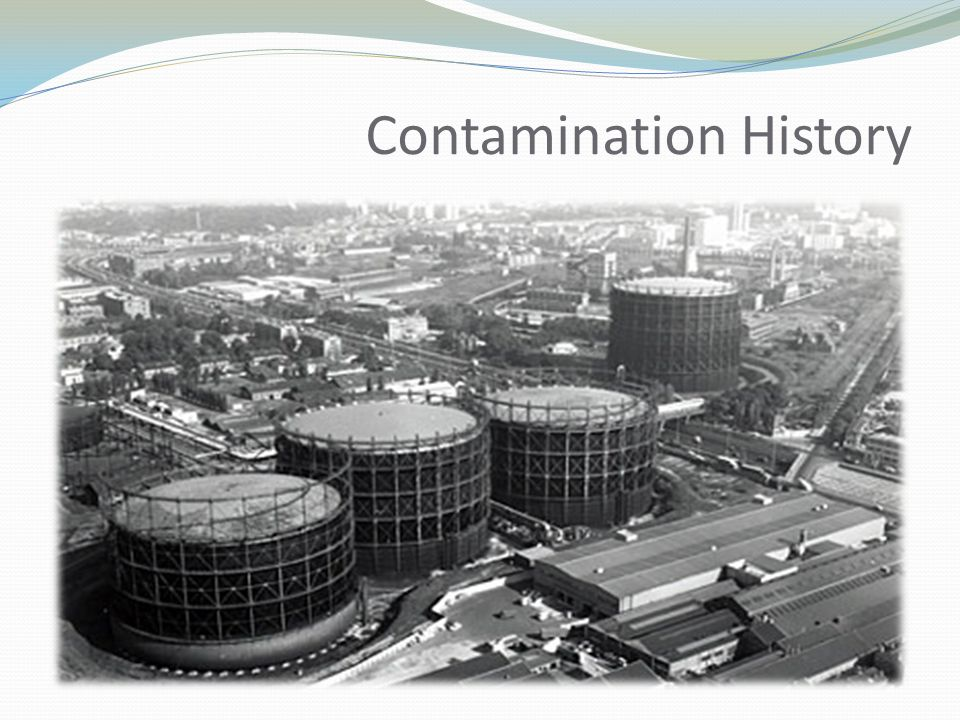 Contamination History  The stadium itself is built on the site of a former gas works built in 1882.