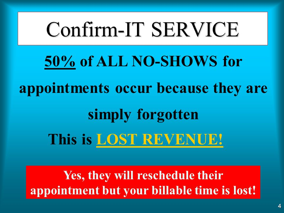 3 Repair Confirm-IT SERVICE Confirm-IT addresses many Service-related work environments such as Delivery Service Installation