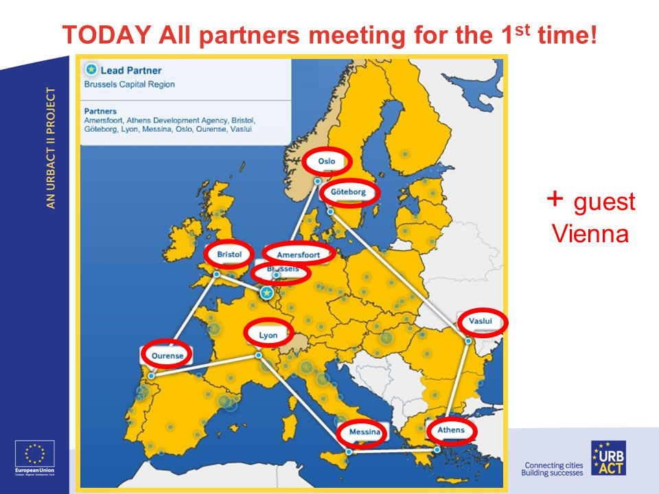 TODAY All partners meeting for the 1 st time.