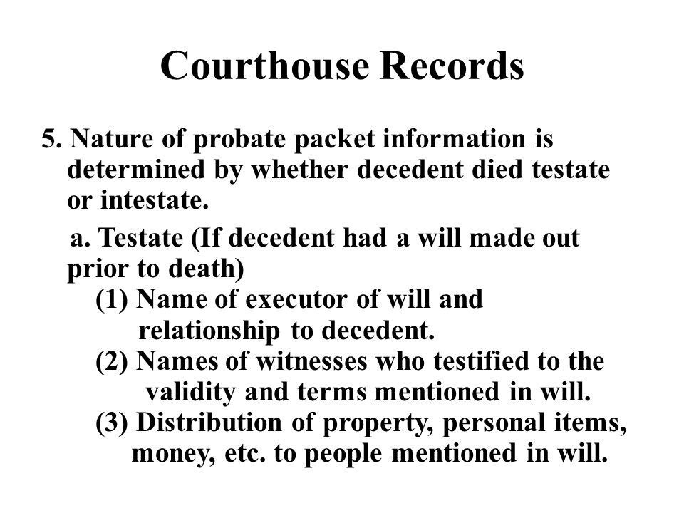 Courthouse Records 5.