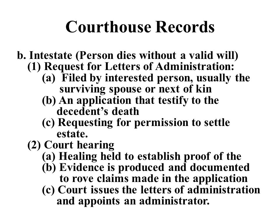 Courthouse Records b.