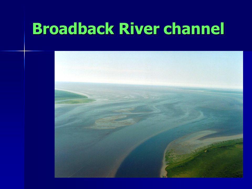 Broadback River channel