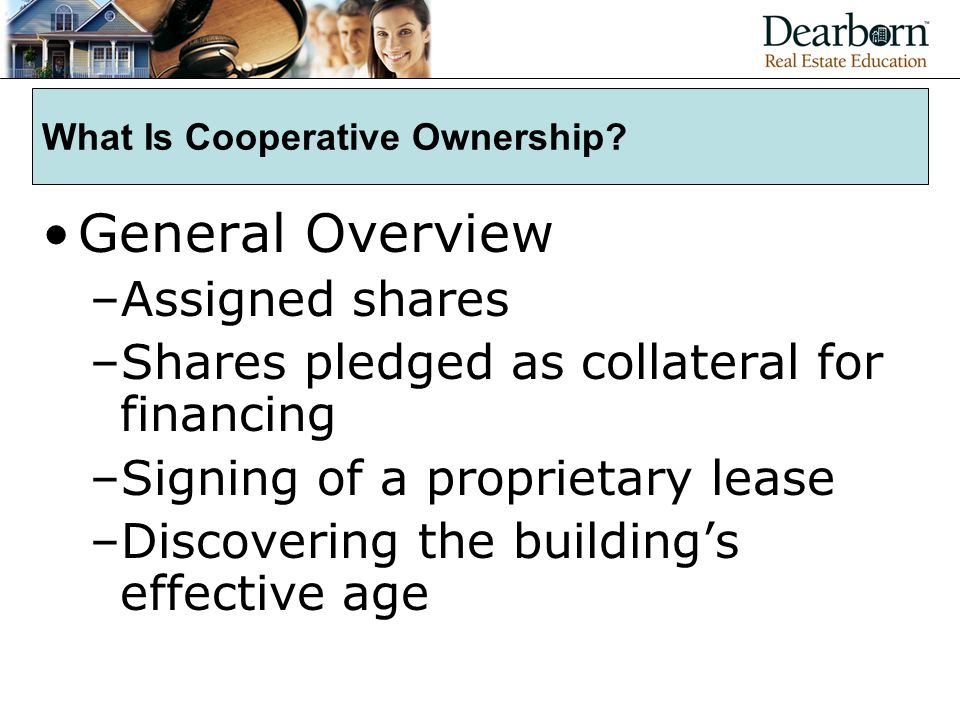 What Is Cooperative Ownership.