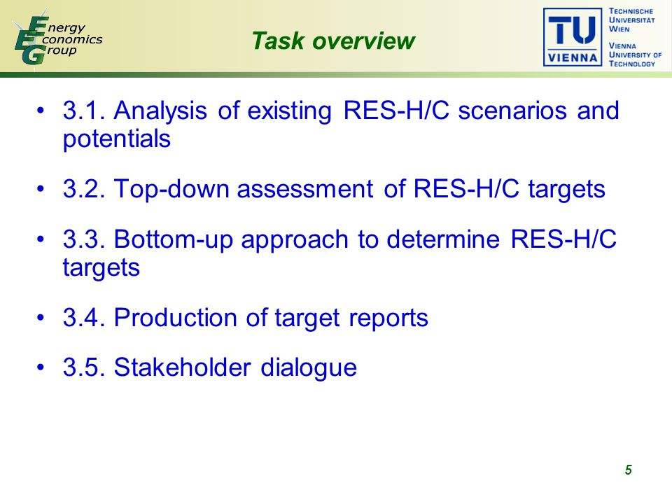 26 Task 3.3 Data requirement Industry