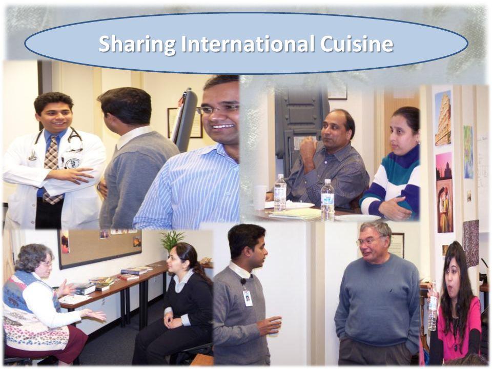7/27/2010 Sharing International Cuisine