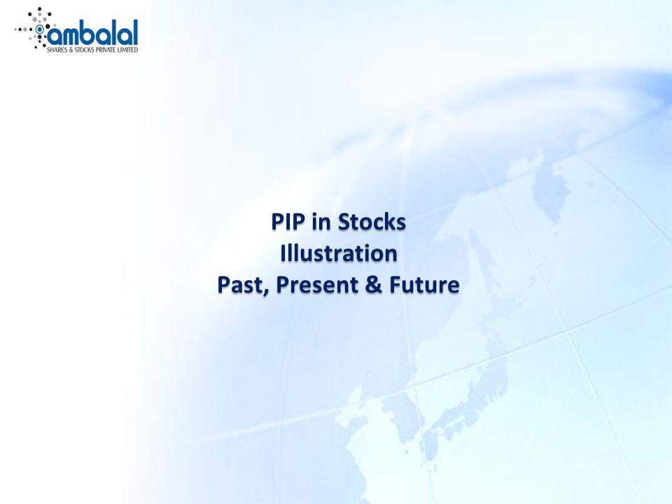 PIP in Stocks Illustration Past, Present & Future