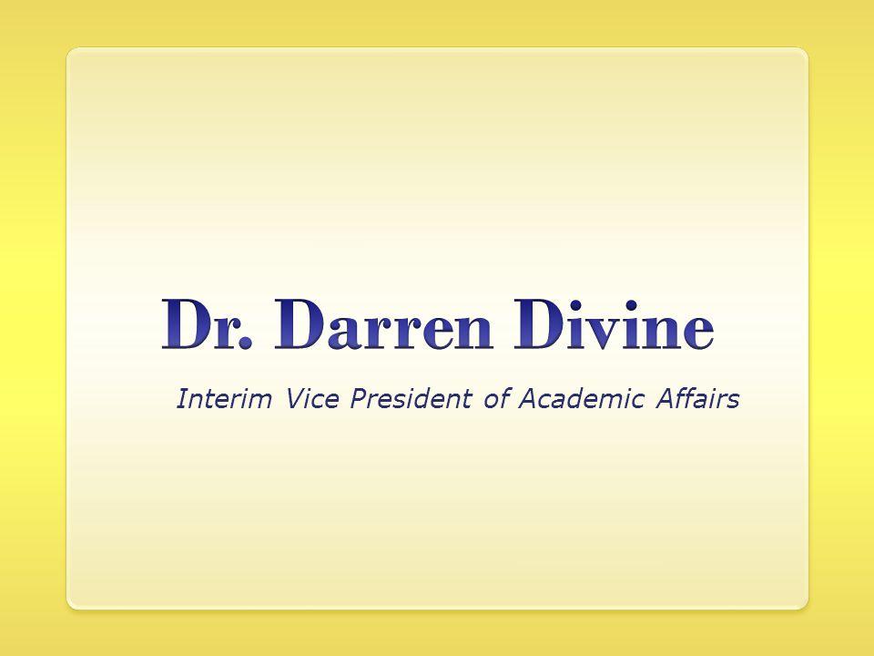 Interim Vice President of Academic Affairs
