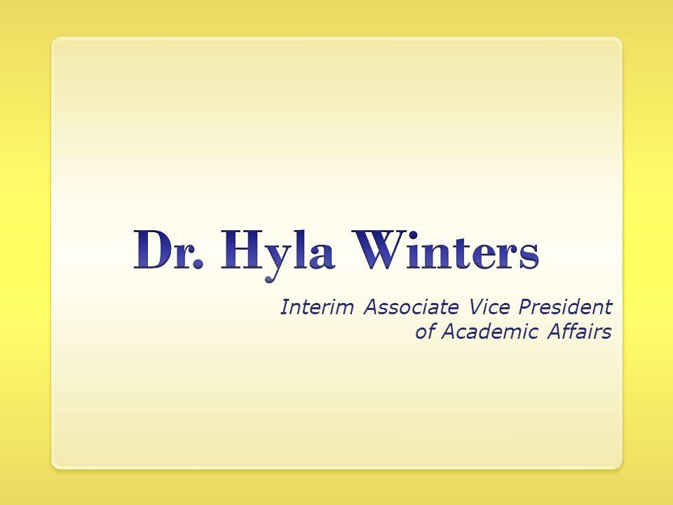 Interim Associate Vice President of Academic Affairs