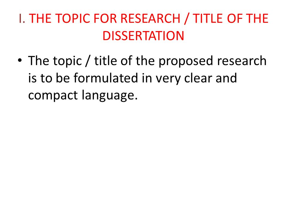 Dissertation Proposal Methodology