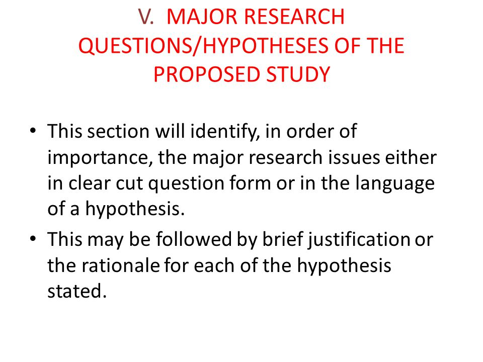 Psychology Research Proposal Sample