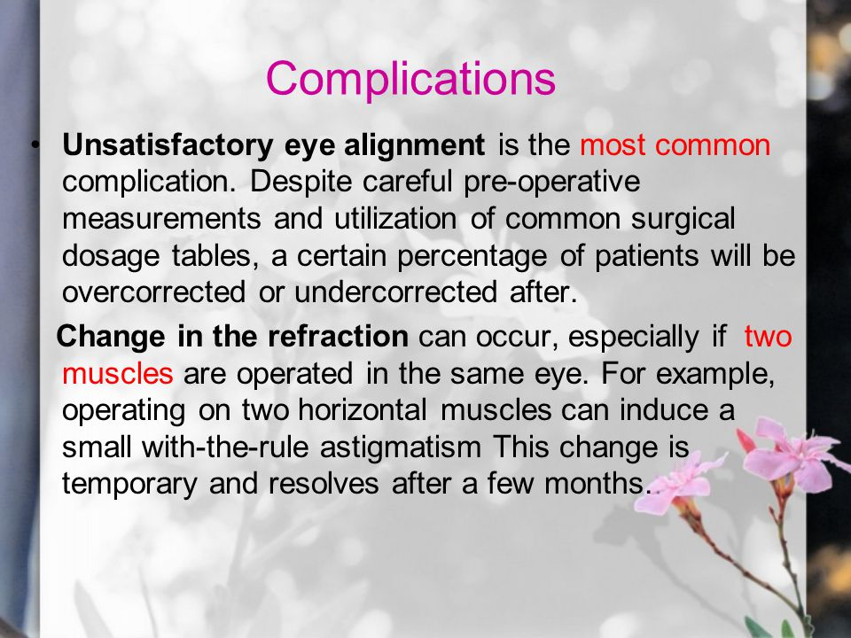 Risk factors Conjunctival inclusion cyst is increased when the conjunctival wound is not closed meticulously.