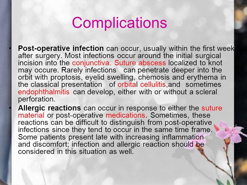 Posoperative infection