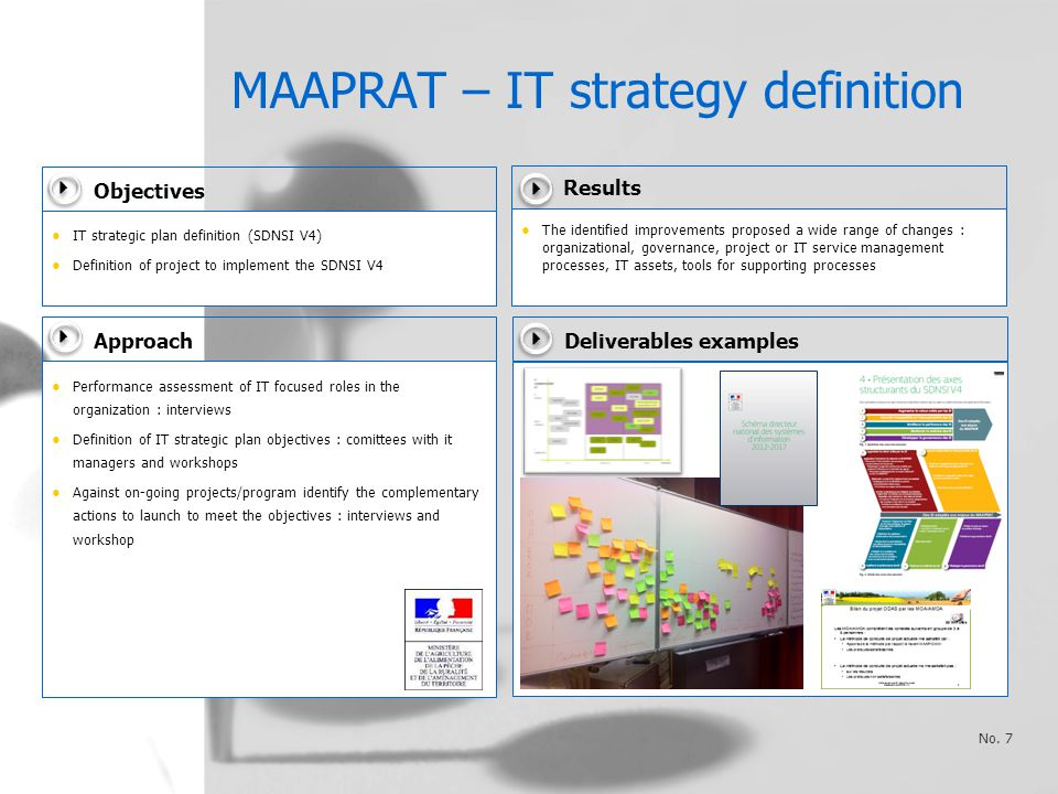 MAAPRAT – IT strategy definition No.