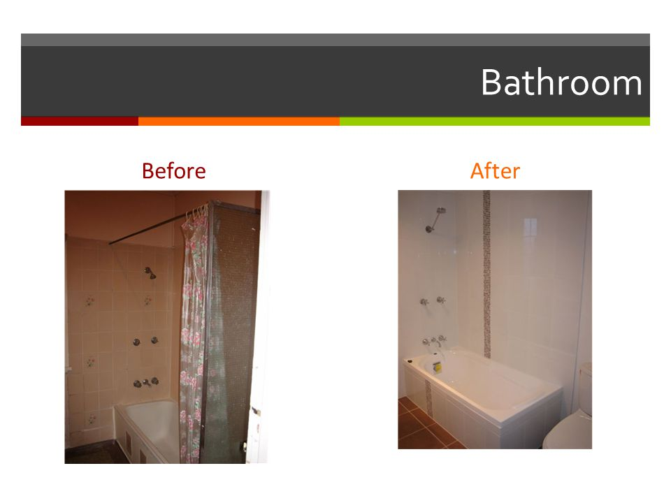 Bathroom BeforeAfter