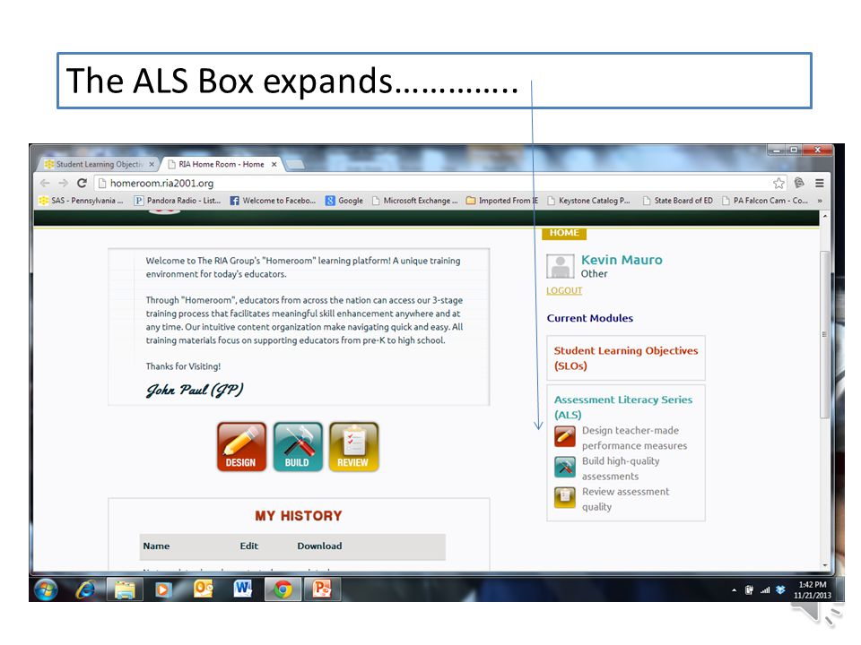 Home Page for information: Open ALS