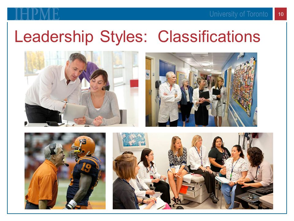 10 Leadership Styles: Classifications