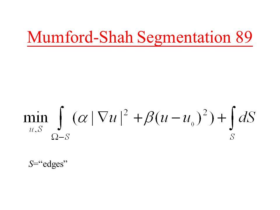 Mumford-Shah Segmentation 89 S= edges