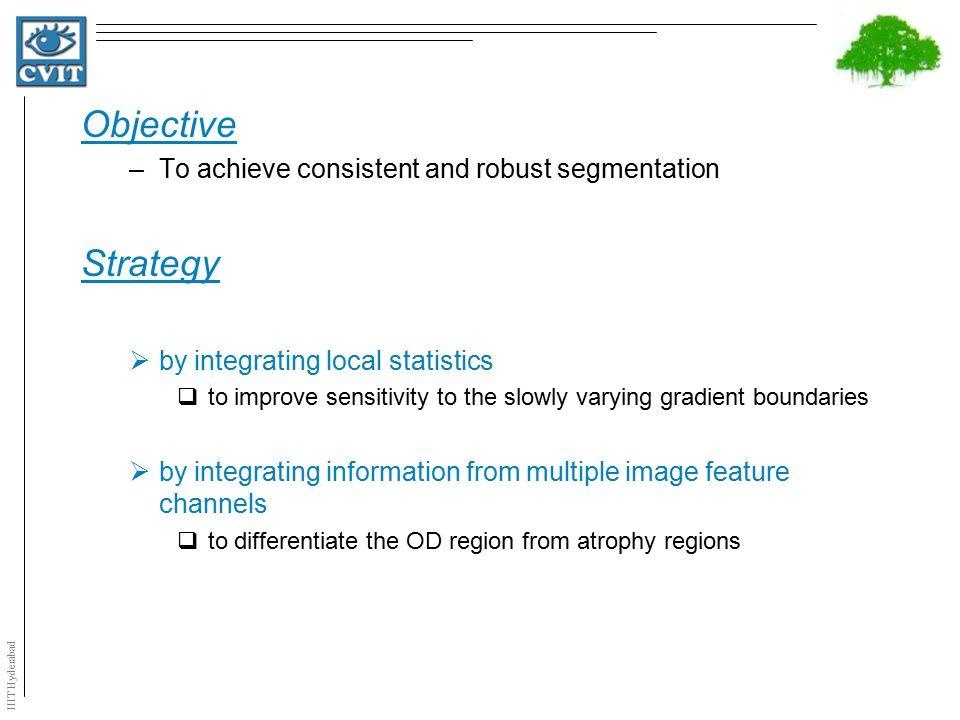 IIIT Hyderabad Results on 8 Difficult Images Average signed boundary Distance Over-segmentationUnder segmentation