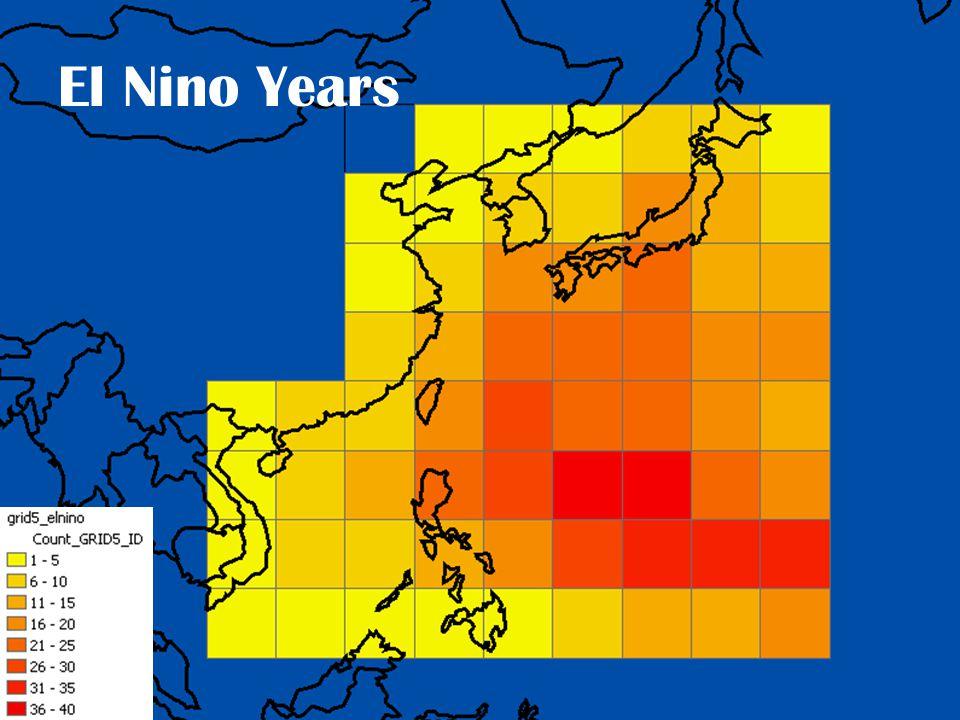 El Nino Years