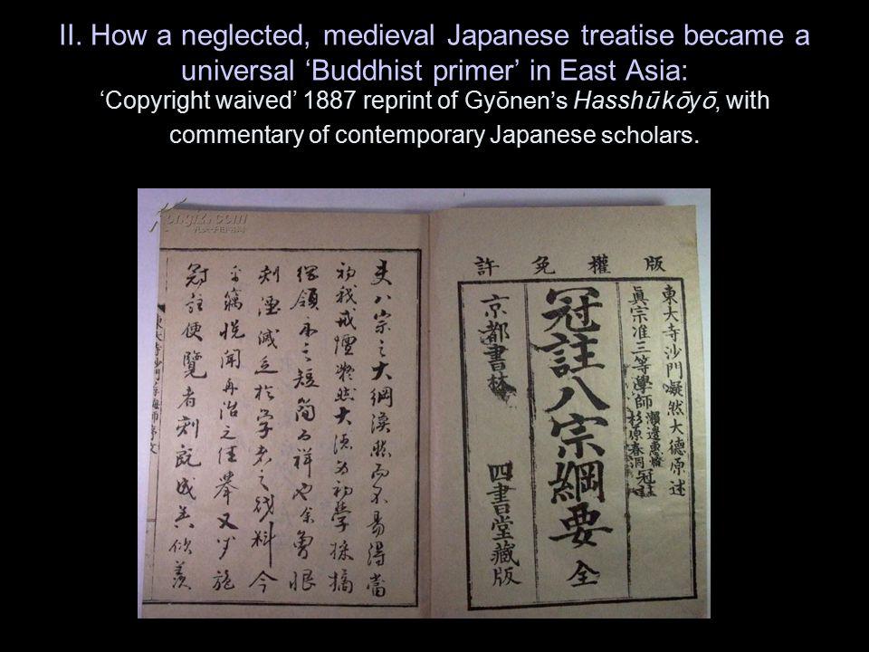 Fujishima's spin on Nanjō: The Modern Triumph of Japanese Buddhism and the J ōdo shinshū ● J ōdo shinshū (the True Pure Land School) represents the final, predestined historical unfolding of the Budddha's teaching—the epitome of evolution across three continents.
