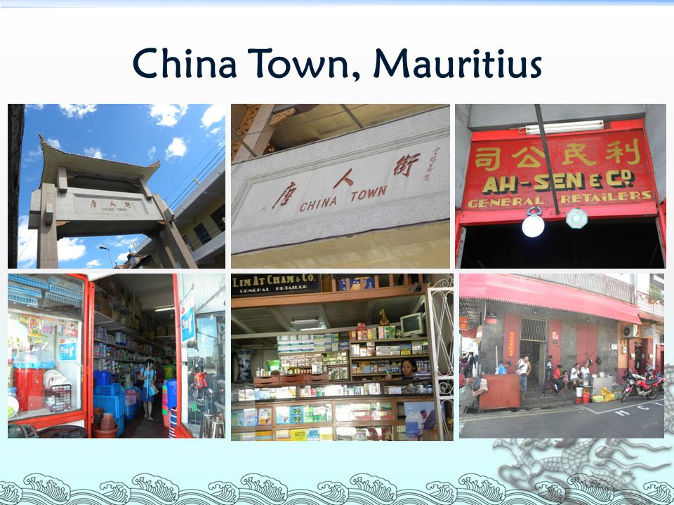 China Town, Mauritius