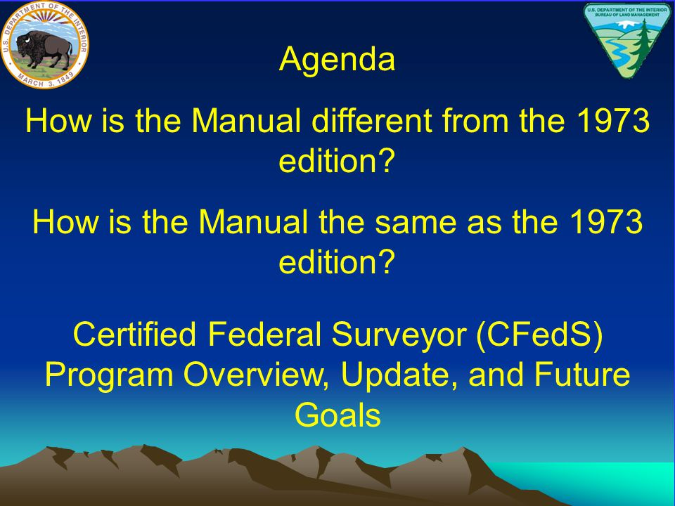 What is the Manual of Surveying Instructions? (Manual) Whom/What is affected?