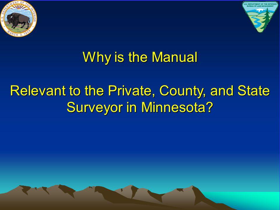 MINNESOTA STATUTES Chapter 389 County Surveyor Section 04 Rules for Surveys Minn.