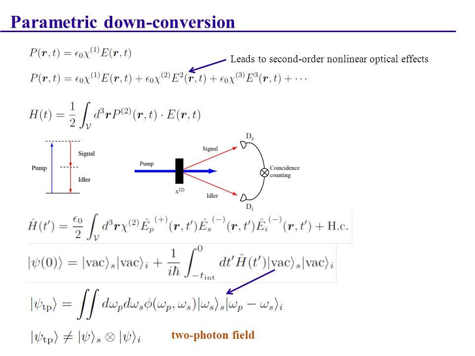 Angular One-Photon Interference OAM-mode distribution: E.