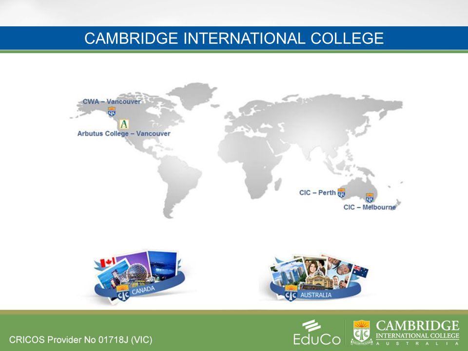 CAMBRIDGE INTERNATIONAL COLLEGE