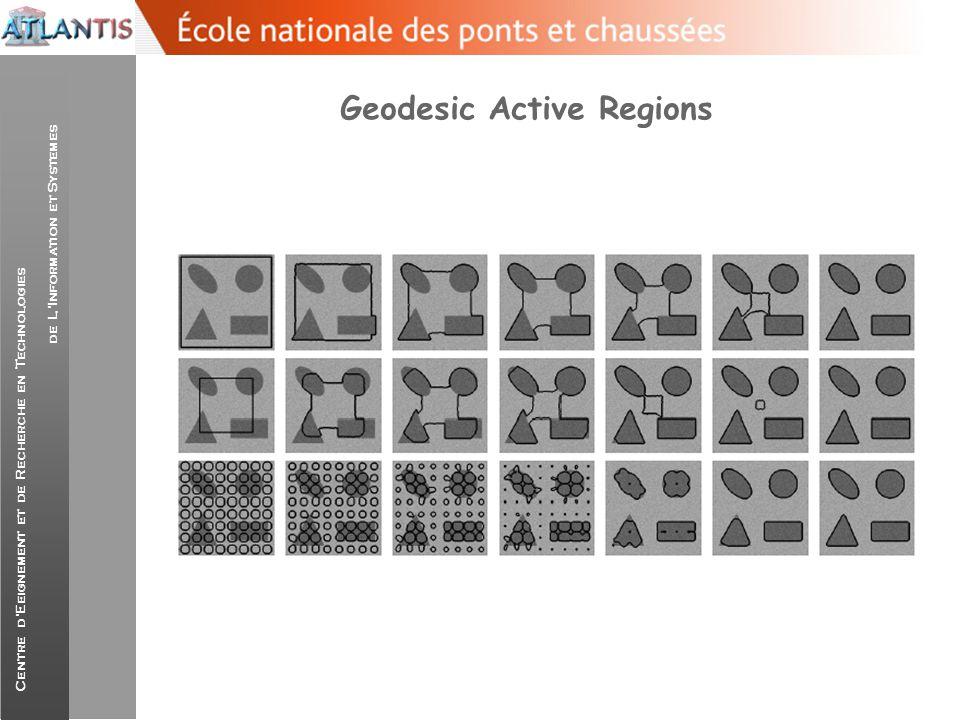 Centre d'Eeignement et de Recherche en Technologies de L'Information et Systemes Geodesic Active Regions