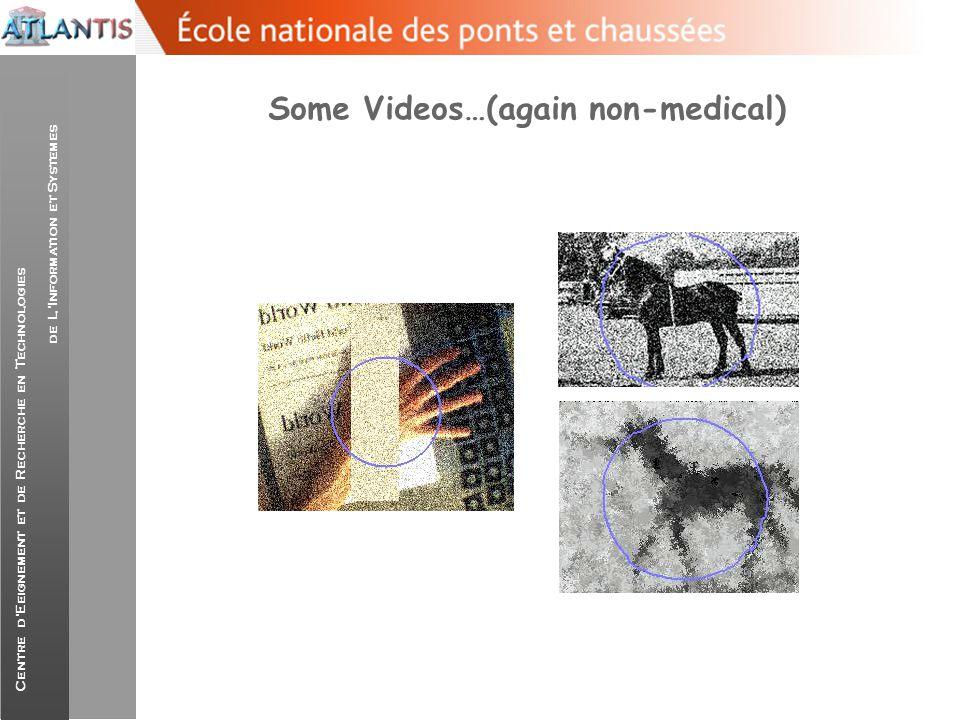 Centre d'Eeignement et de Recherche en Technologies de L'Information et Systemes Some Videos…(again non-medical)