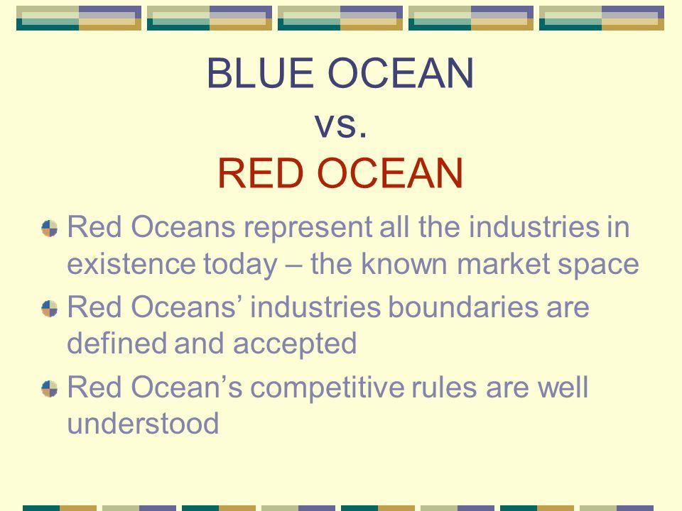 BLUE OCEAN vs.