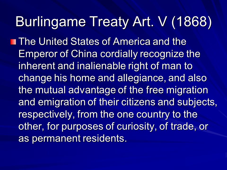 Geary Act 1892 That any Chinese person or person of Chinese descent arrested under the provisions of this act or the acts hereby extended shall be adjudged to be unlawfully within the United States unless such person shall establish, by affirmative proof, to the satisfaction of such justice, judge, or commissioner, his lawful right to remain in the United States.