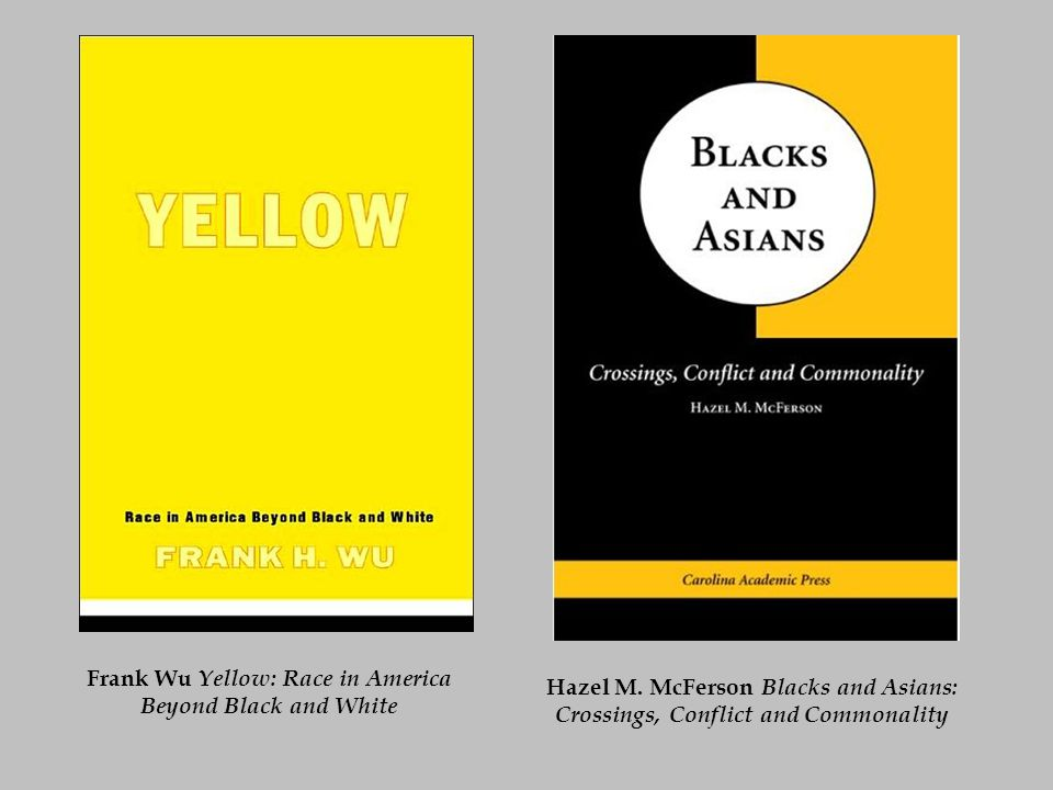 Frank Wu Yellow: Race in America Beyond Black and White Hazel M.