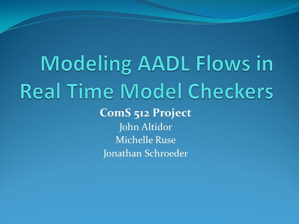 ComS 512 Project John Altidor Michelle Ruse Jonathan Schroeder