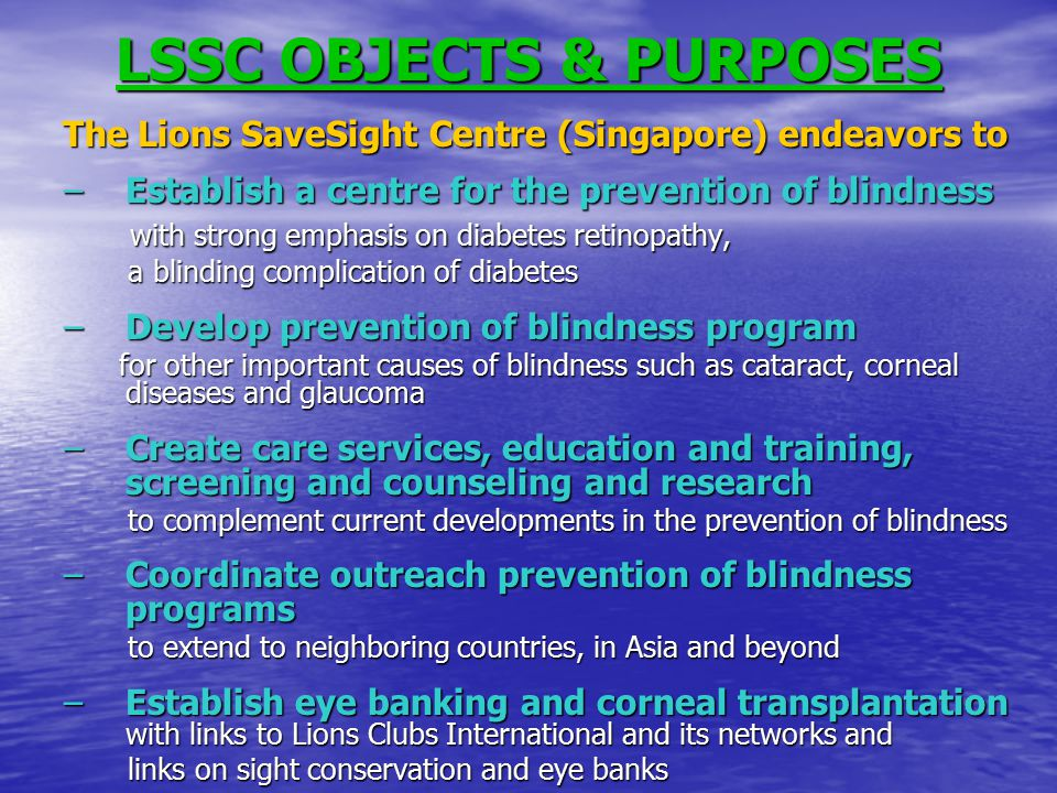 Lions Recycle for Sight Lions & Leo Clubs Liaison Coordinators Eyeglasses Collection Centres Liaison Coordinators Eyeglasses Processing, Grading, Packaging & Storage Coordinators Overseas Mission Liaison Coordinators LCI Liaison Coordinator (LCI Website: w w w w w wwww wwww....