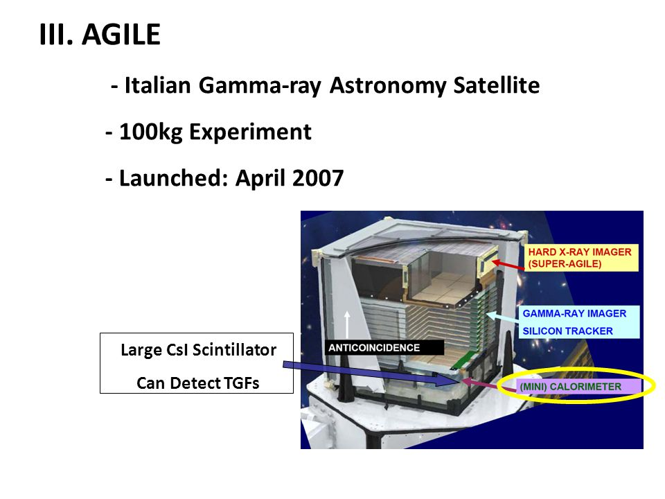 Large CsI Scintillator Can Detect TGFs III.