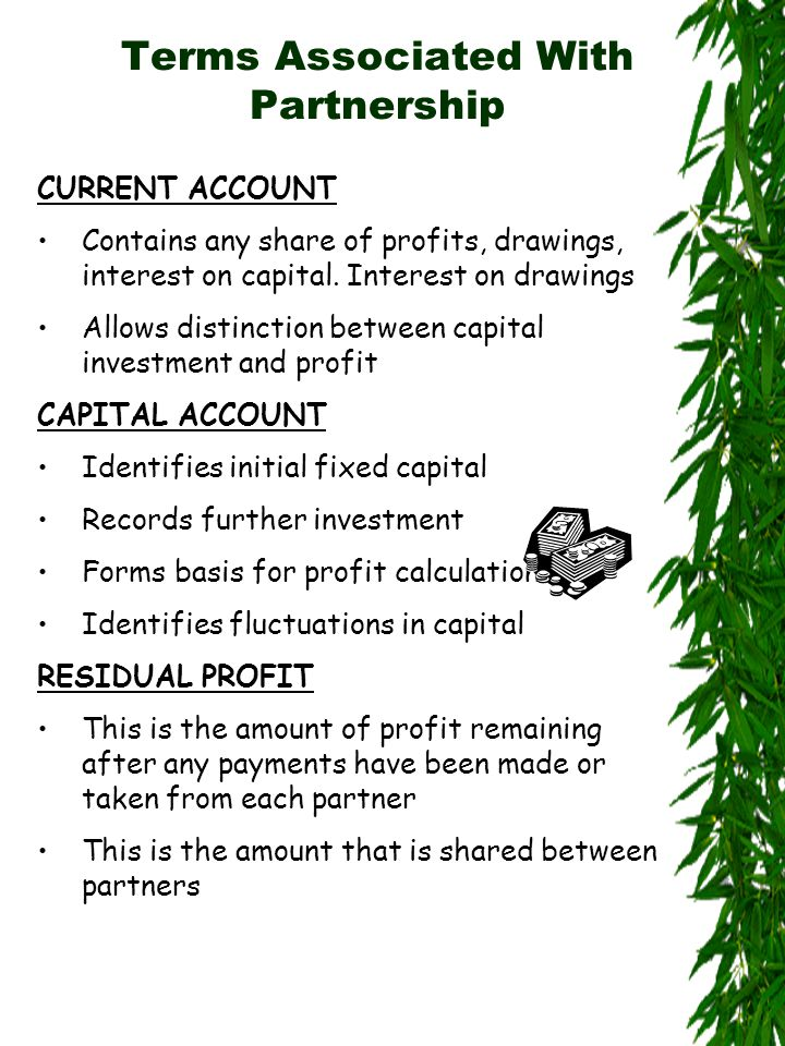 Procedure for Creating Partnership Accounts 3Work out share of profits for each partner
