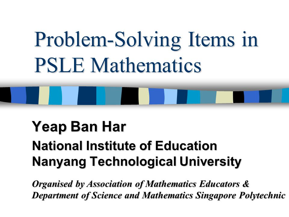 Item Types in PSLE A rectangular piece of paper, coloured on one side, is folded to form the shape shown below.