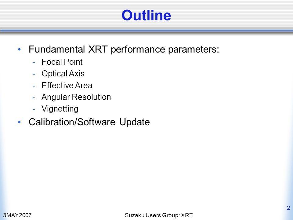 3MAY2007Suzaku Users Group: XRT 13 XIS2 4.5 keV8 keV 2006 2005 DETX DETY