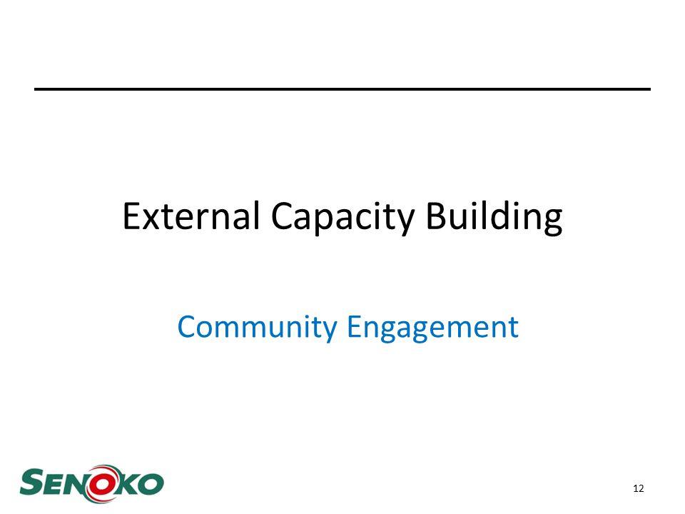 External Capacity Building Community Engagement 12