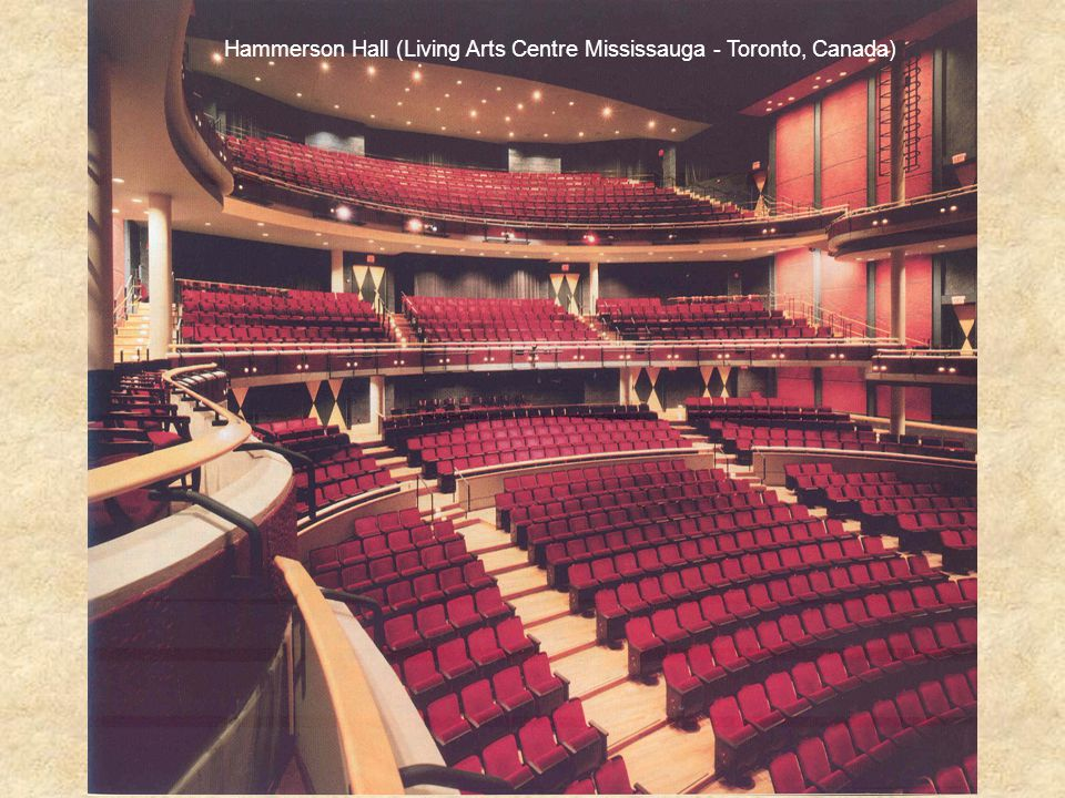 Hammerson Hall (Living Arts Centre Mississauga - Toronto, Canada)