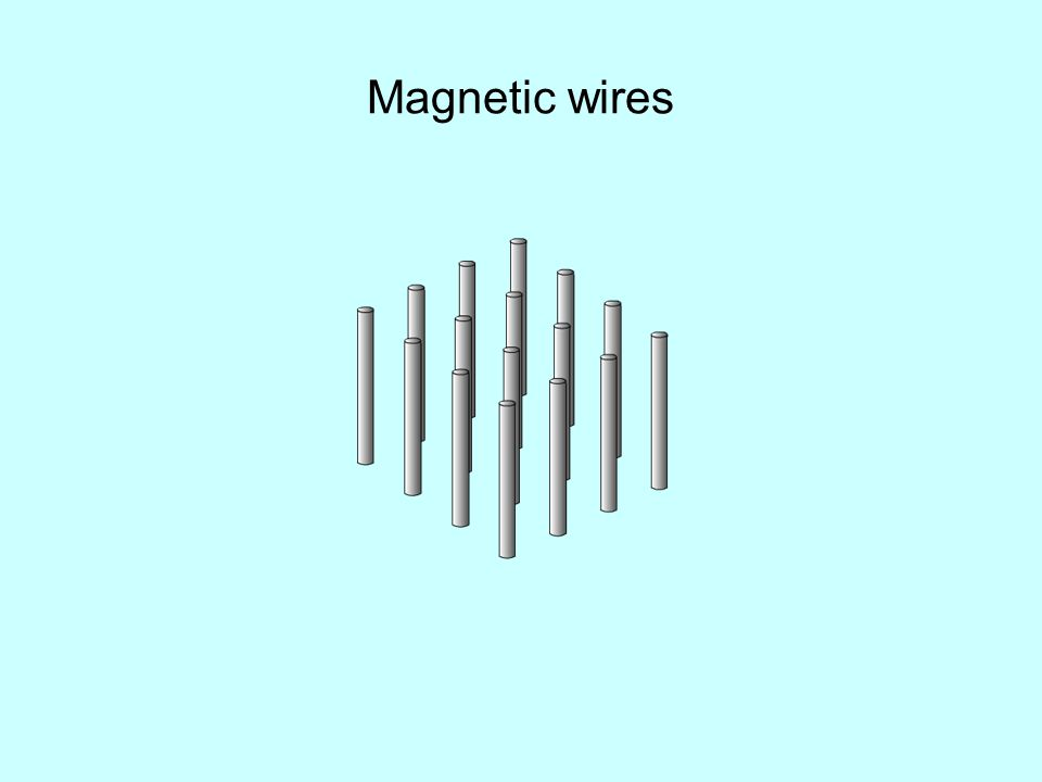 Magnetic wires
