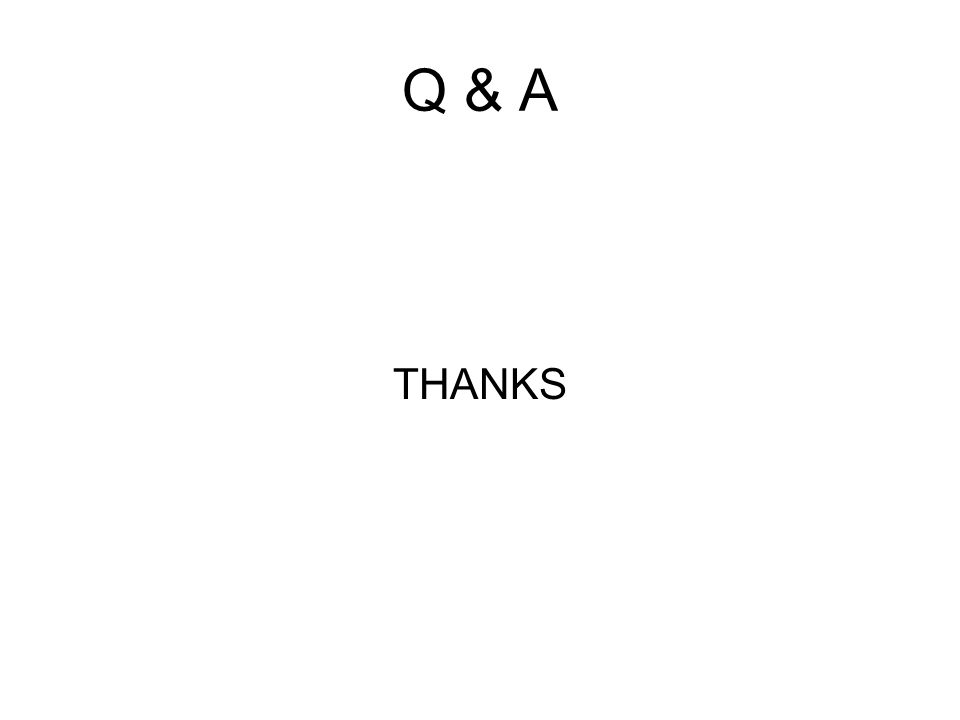 Q & A THANKS